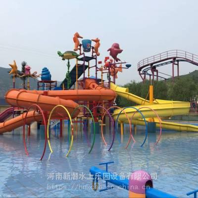 水上过山车滑梯生产厂家,2019新款水滑梯,彩虹滑梯加工