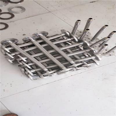 河北厂家加工单扣不锈钢金属软管 抗震金属软管 安装灵活