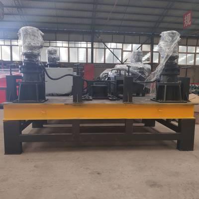 数控工字钢弯曲机 涵洞支护工字钢弯曲机 精恒WGJ-250冷弯机厂商