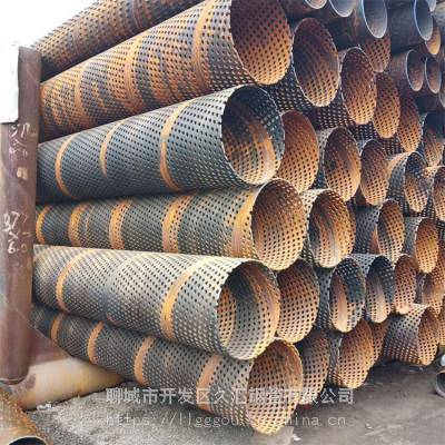 钢制滤水管(89、114、159、168)打孔滤水管/割缝过滤管 加工中心