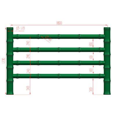 仿竹栏杆厂商-仿竹栏杆-易商量装饰工程公司(查看)