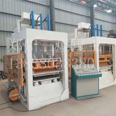 厂家直供砌块免烧砖机 全自动液压水泥制砖机 5-15面包透水砖机