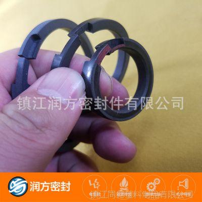 供应无油压缩机活塞环:聚四氟乙烯PTFE耐磨不产生抖动 硬币不倒