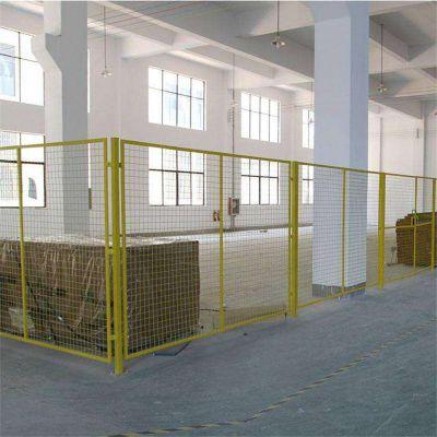 厂区阻隔网 生产设备浸塑围栏 保税区安全防护网