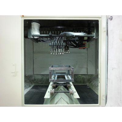 跃强不锈钢洗物槽洗手盆专用自动喷砂机热销中_洗物槽洗手盆专用喷砂机报价