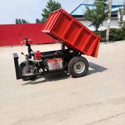 工地拉砖拉灰电动三轮车果园运输电三轮车装修进电梯小型手推车
