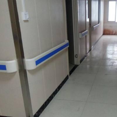 医院pvc防撞带价格 养老院幼儿园楼道走廊用墙壁铝合金木纹安全防撞扶手山东