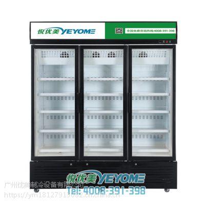 低温展示柜冷冻柜悦优美商用低温柜雪糕水饺海鲜汤圆速冻柜厂家直供