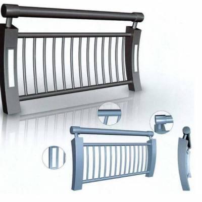灯光防撞栏杆定做-山东神龙金属灯光栏杆-优质灯光防撞栏杆定做