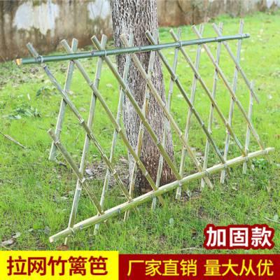 焦作博爱县pvc护栏, 塑钢草坪护栏竹篱笆pvc变压器围栏防腐竹栅栏竹篱笆