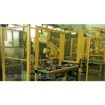 刹车盘CNC加工机床上下料机器人自动生产线 机器人厂家 机器人价格 6轴关节机器人