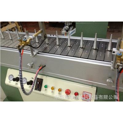 东莞中扬火焰处理机 配套丝印机 移印机专用火焰处理聚乙烯PE PP瓶子leduv
