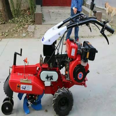 厂家直销开沟机 山坡地手扶旋耕机 自走式微耕机