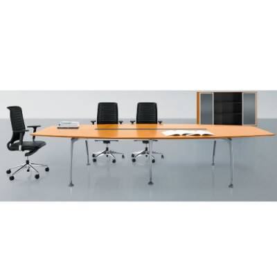 卓而雅家具科技 带多媒体插座的会议桌定制