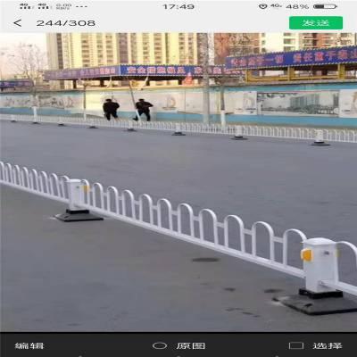 宁波 自建房围墙护栏 单弯头锌钢护栏 厂家直销