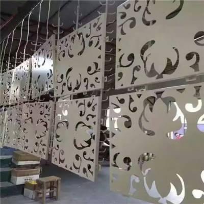 山姆会员店电梯两侧镂空透光铝单板 -尺寸定制