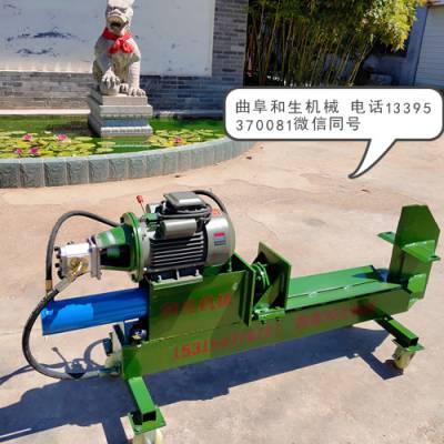 金昌电动液压劈柴机,大型劈柴机信息推荐