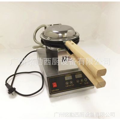 电热香港电子版数显QQ蛋仔机 鸡蛋仔机 鸡蛋饼机 烤饼机 商用