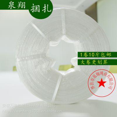 供应塑料捆扎绳泉翔生产拉力强出捆率高塑料捆扎手加打包捆绑