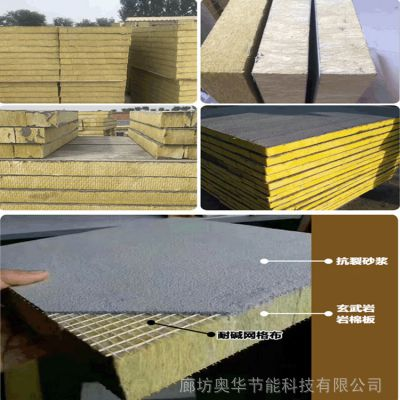 机制岩棉复合保温板 外墙岩棉版 厂家直销