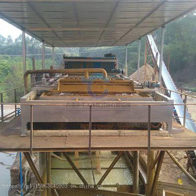 洗风化砂带式压滤机 华工带式泥浆压干机定制
