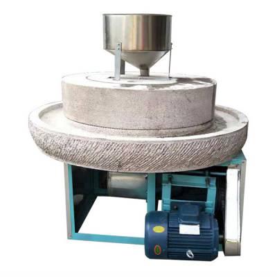 电动石磨香油机-电动石磨豆腐机-潾钰奇机械