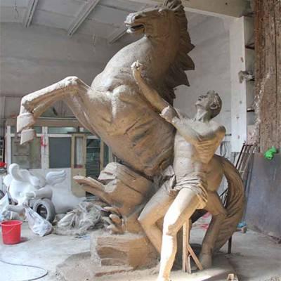 公园铜马-山西铜马-昌宝祥铜雕铸造厂