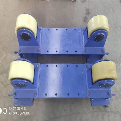 新款滚筒用可调式滚轮架托轮架 管道环缝焊接滚轮架 10吨可调座式变位机