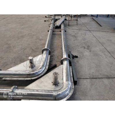 山东科磊专业制造玻璃纤维管链输送机