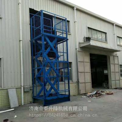 济南航天供应高品质固定式液压升降机|升降平台|液压货梯|可根据需求定制
