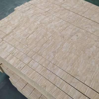 厂家供应120 公斤 岩棉保温板 防火吸音保温板