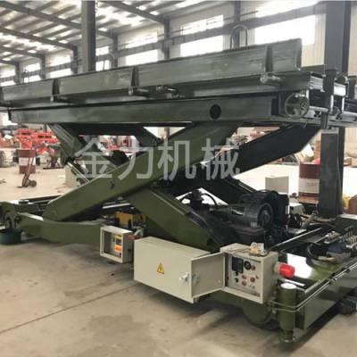 宁波钢厂用固定剪叉式升降机-金力机械实力厂家