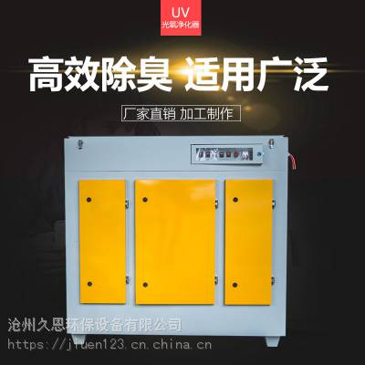 橡胶厂UV光解废气处理环保设备除臭的原理