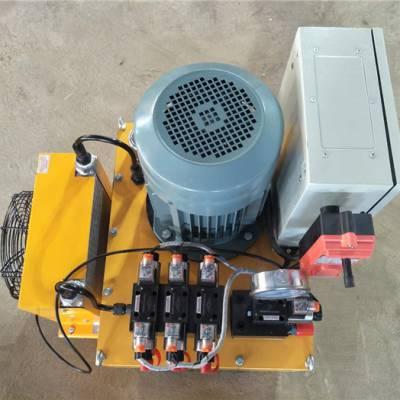 遥控电磁阀液压泵站价格-德州中豪液压深受信赖