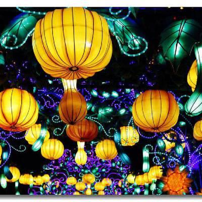 独山花灯文化 三门峡转花灯寓意 设计彩灯
