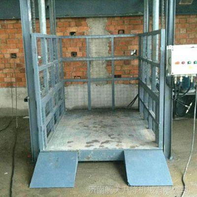 AG亚游集团專業定制安徽廠房車間導軌式升降平臺升降貨梯載重量大