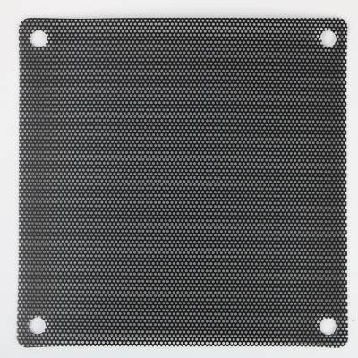 厂家直销冲孔PVC塑胶网 PVC音响喇叭网 电脑机箱防尘网罩