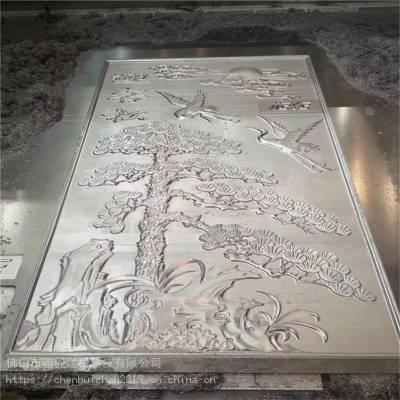厂家定制铝浮雕幕墙梁柱壁画 不褪色铝合金浮雕铝板