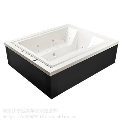 江苏南京奕华卫浴2.8米亚克力按摩浴缸户外spa池户外花园大型浴缸情趣泡池