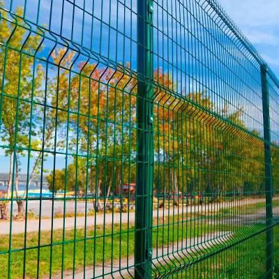 公路安全隔离护栏网浸塑铁丝网围栏低碳钢丝铁路护栏网