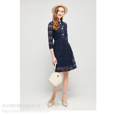 【0库存】服装经销商拿货价佩柏莱坦女高腰雪纺裙