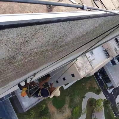 大埔外墙玻璃清洁外墙清洗专业团队 高空作业