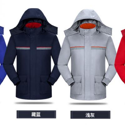 兰州棉衣棉夹克冲锋衣工作服工装生产厂家