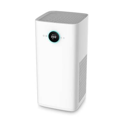 厂家直销代工贴牌家用空气净化器负离子杀菌除烟味室内智能空气消毒机礼品