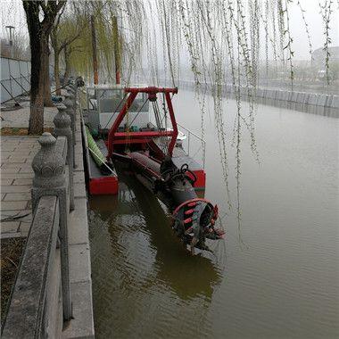 清淤船-雅安环保绞吸清淤船造价-宜宾河道清淤船有几种型号