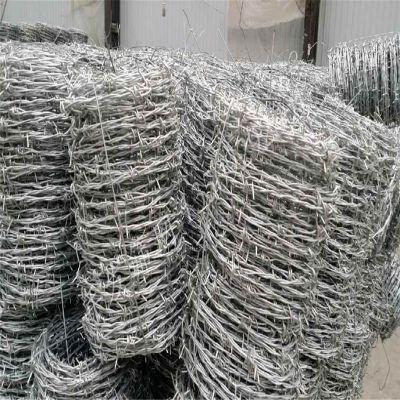 农场刺丝围栏 包塑刺铁丝 镀锌果园刺铁丝
