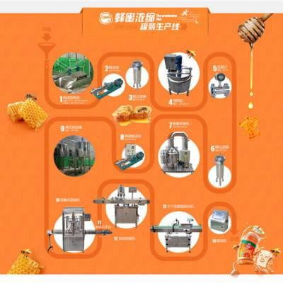 桂林蜂蜜设备生产线-南洋食品机械设备厂