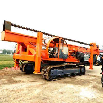 长期供应光伏电打桩机 长螺旋液压打桩机 履带式抗浮锚杆钻机优质产品