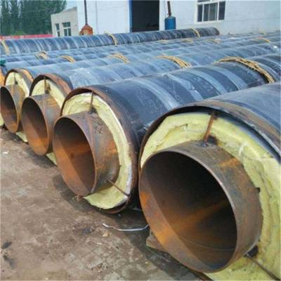 聚氨酯直埋保温管销售厂家,直埋管道保温管施工价格