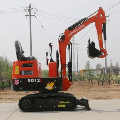 苗圃移栽小型挖掘机 狭窄空间专用小挖机 小勾机报价